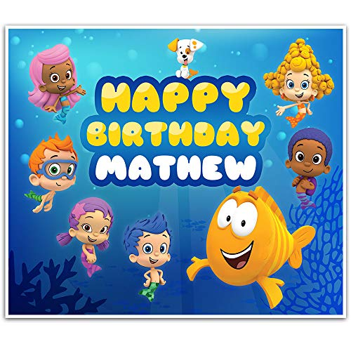 Bubble Guppies Birthday Banner 42