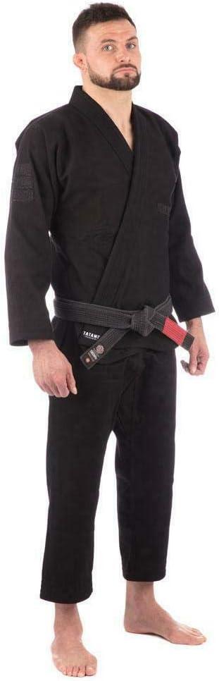 Tatami Classic BJJ Gi Black Brazillian Jiu Jitsu Gi Kimono Grappling Uniform