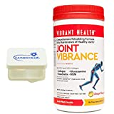 Vibrant Health - Joint Vibrance : Maintain Healthy Joints 21 Servings Bundle with Lumintrail Pill Case