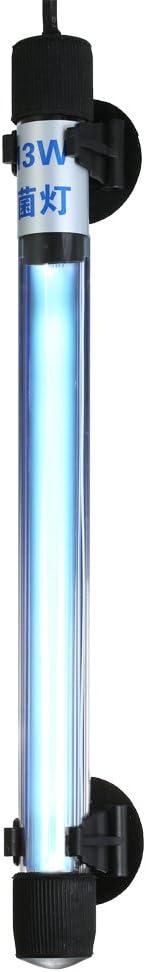 Decdeal 13W UV Light Sterilization Lamp Submersible Sterilizer for Aquarium Fish Tank Pond AC110-120V