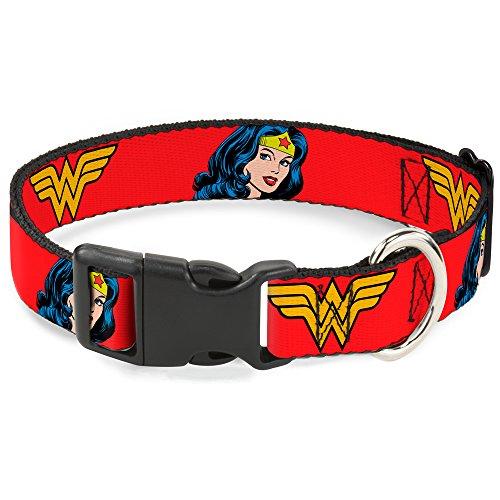 Wonder Woman DC Comics Superhero Close-Up Face And Logo Clip