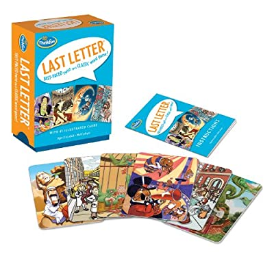 Think Fun Last Letter Card Game: Toys & Games