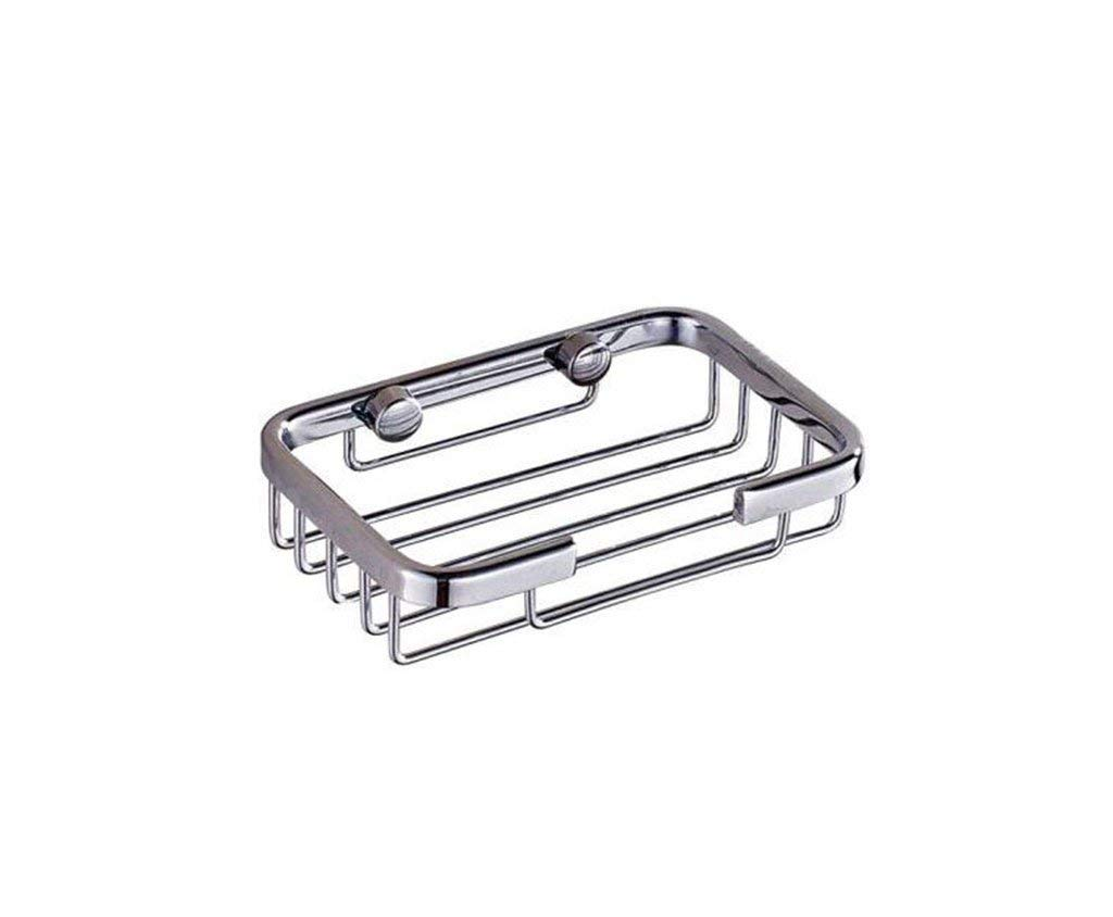 Junson Soap Dish Holder, Shelf for Walls Stainless Steel Bathroom soap Box 304 Stainless Steel Bathroom soap Dish Stainless Steel soap Box soap Basket (Color : B) (Color : A) by Junson (Image #1)
