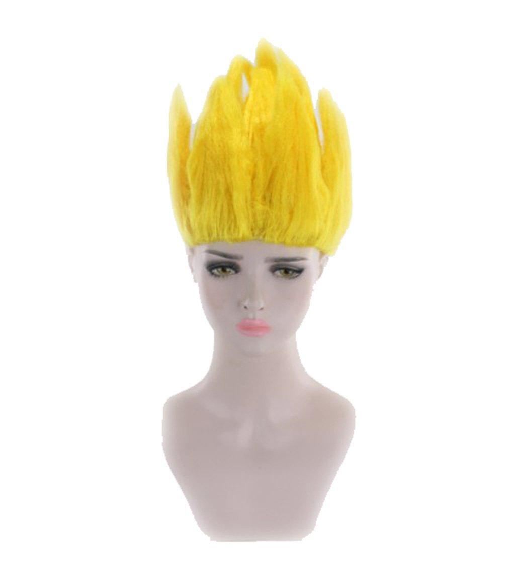 Amazon.com  Touirch Anime Party Men s Dragon Ball Goku Halloween Cosplay Wig  (pink)  Beauty 5411f506e8