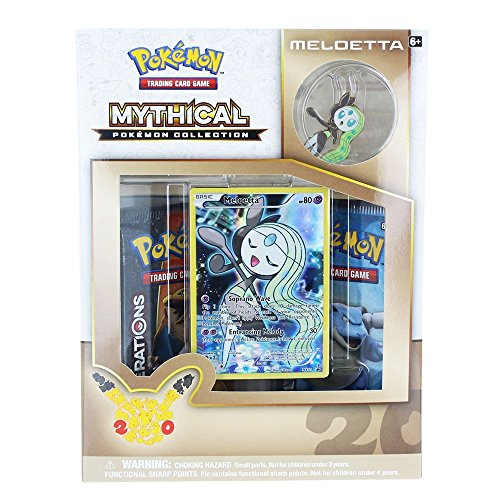TCG: Mythical Pokemon Meloetta Collection (Generation Pokemon)