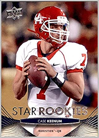 on sale 38818 839b4 2012 Upper Deck #67 Case Keenum HOUSTON TEXANS COUGARS at ...