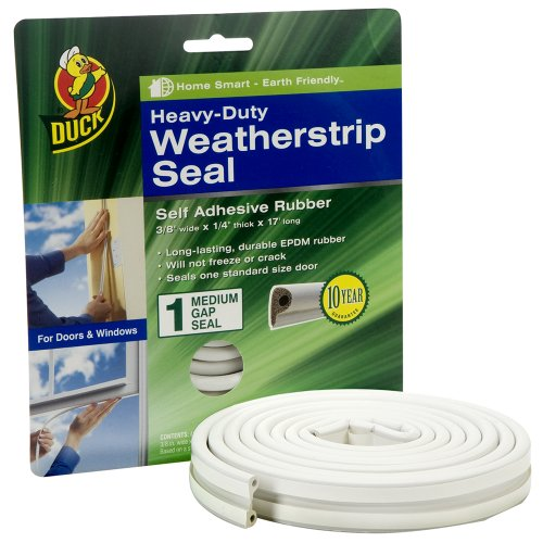 Duck 282435 Heavy Duty Adhesive Weatherstrip