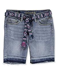 VIGOSS Girls Big Girls Belted Bermuda