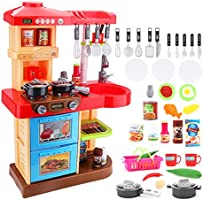 deAO (KC2) Cocina DE Juguete -MY Little Chef- con Accesorios