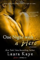 One Night with a Hero (Entangled Brazen) (The Hero Book 2)