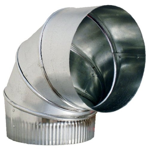metal duct elbow for range hood venting