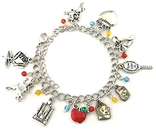 Beautiful Snow - Beautiful Christmas Gift Jewellery Collection (Snow White Charm Bracelet)