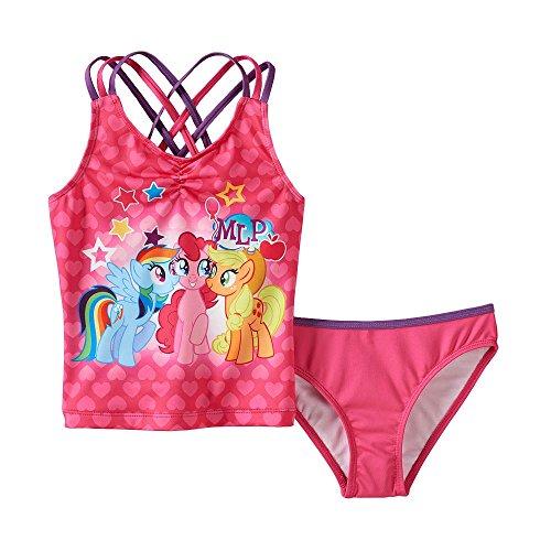 Hasbro Little Girls' My Little Pony Tankini (3T)
