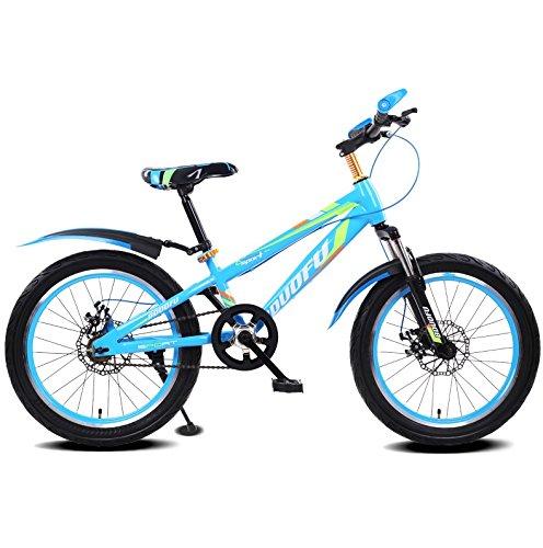 DGF 子供用自転車MTB男性、女性、子供1618インチ4-12歳の学生自転車 (色 : D, サイズ さいず : 18 inches) B07F3ZV9S4 18 inches|D D 18 inches