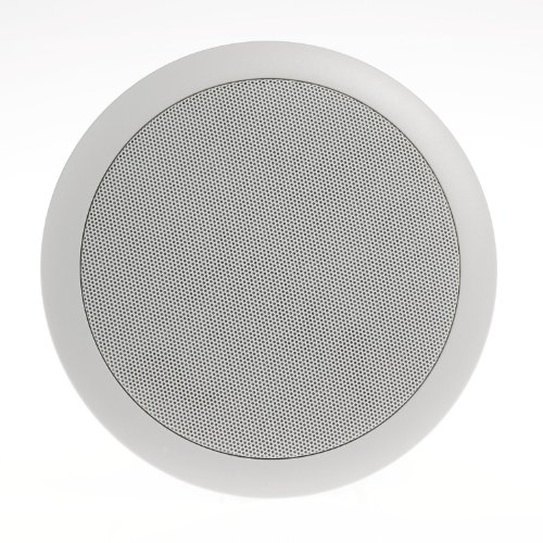 "Legrand - On-Q 3647640201 6.5"" evoQ 1000 Series In-Ceiling Speakers (Pair), 2 Way Mount Speaker System with Mylar Tweeter Type, Flush Mount, White by Legrand-On-Q"