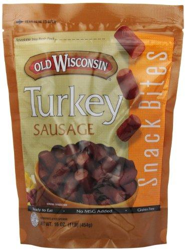 Old Wisconsin Bites, Turkey, 16-Ounce
