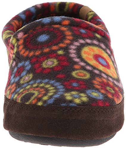 Chocolate Moc Dots Women's Acorn Slipper xpwfWY