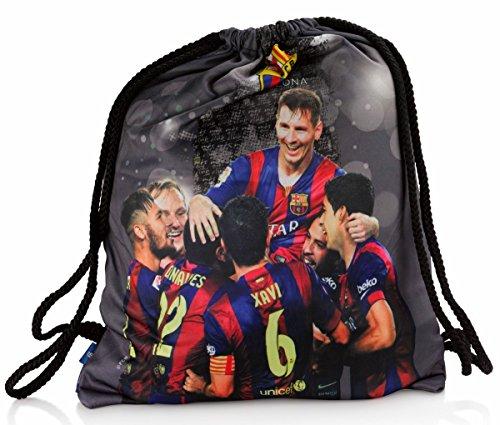 Offiziell Lizensierte ORIGINAL FC Barcelona Lionel Messi Sehr Hohe Qualität Gymsack / Gym Sack / Gym bag Rucksack - Offiziell Lizensierte Fanartikel