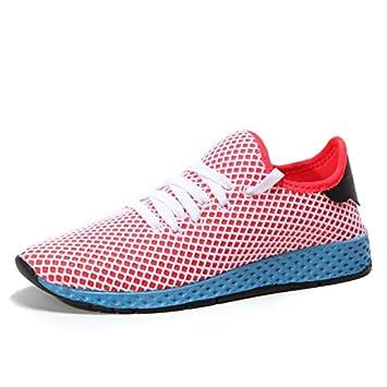 WDDGPZYDX Los Hombres de Moda Zapatos Casuales Marcas Zapatos Masculinos de Ocio Suave Calzado Zapatillas Transpirables