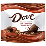DOVE PROMISES Peanut Butter and Milk Chocolate Candy Bag, 7.61 oz