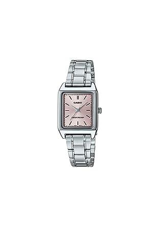 1ea3c47f0 Relógio Feminino Analógico Casio LTP-V007D-4EUDF - Prata: Amazon.com ...