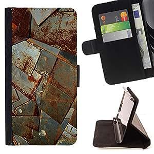 Jordan Colourful Shop - sheet metal rust ship corrosion construction For Samsung Galaxy S5 Mini, SM-G800 - Leather Case Absorci???¡¯???€????€????&sbq