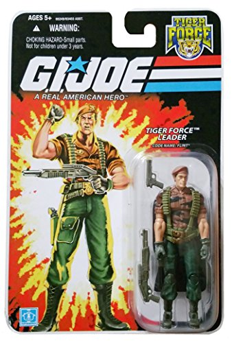 Joe Tiger (G.I. Joe 25th Anniversary Tiger Force: Flint (Tiger Force Leader) 3.75 Inch Action Figure)