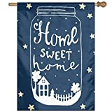 WENION Outdoor Decorative Flag Home Sweet Home 28 x 40 Inches Seasonal Outdoor Lawn Decoration