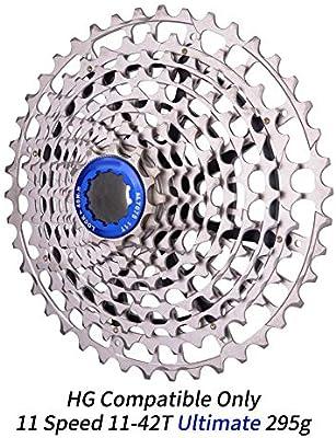 CAISYE Cassette De Velocidad De Bicicleta, Bicicleta Rueda Libre ...