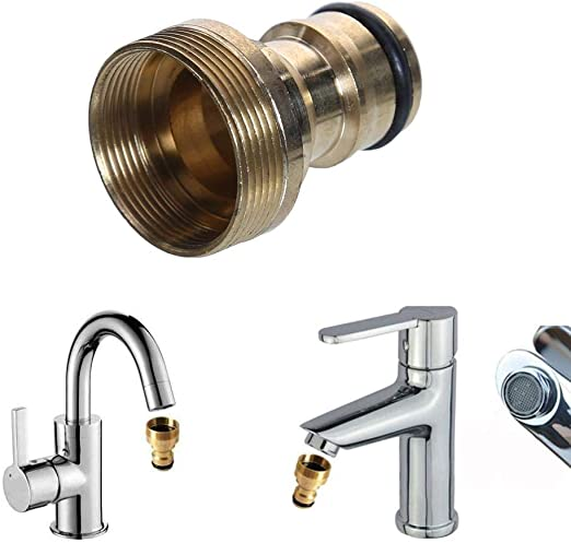 Universal Water Faucet Adapter Tap Connector Kitchen Garden Hose Pipe Fitting