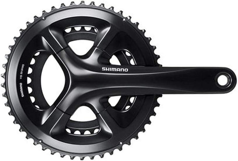 SHIMANO 11-Speed Road Bicycle Crankset FC-RS510 Black - 175MM, 50-34T W//O CG