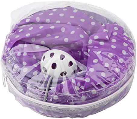 Bed Dot Tent Cat Tunnel Leopard Cat Toy Long for Pet Purple Cat Hide Tunnel