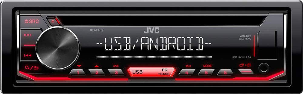 Android USB CD Einbauset f/ür Peugeot 107 JUST SOUND best choice for caraudio Einbauzubeh/ör MP3 Autoradio Radio JVC KD-T402