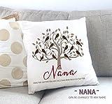 Gift for Grandma, Grandchildren Gift Idea, Gift for Mom, Mother's Day Gift Idea, Nana Gift Idea, Personalized Throw Pillow, Grandma's Flock
