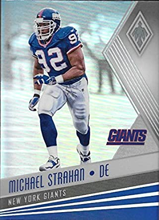 on sale 7b402 37ccd Amazon.com: 2017 Panini Phoenix #72 Michael Strahan NM-MT NY ...