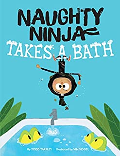 Book Cover: Naughty Ninja Takes a Bath
