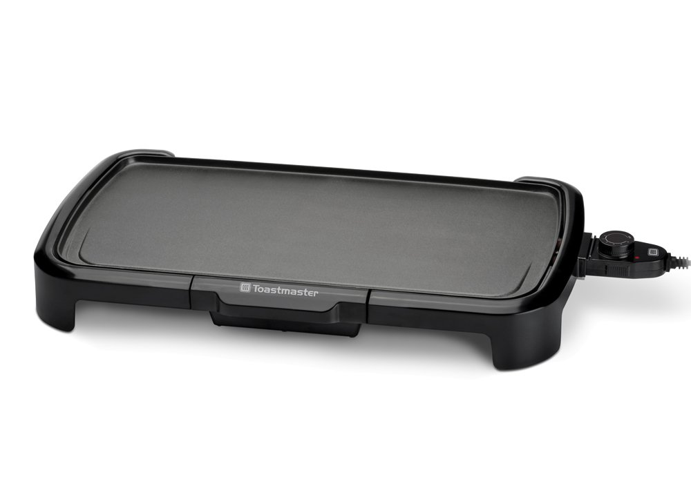 Toastmaster TM-201GR Griddle, 10 x 20, Black 10 x 20