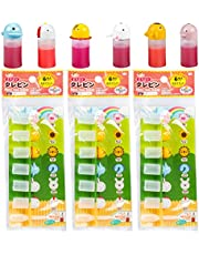 SDUSEIO 21 Pieces Bento Soy Sauce Bottle with Dropper Mini Cute Animal Lunch Sauce Case Container Empty Plastic Squeeze Bottle Condiment Dispenser for Salad Ketchup Syrup Oil Outdoor Barbecue