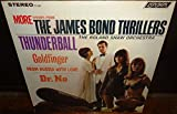 More Themes From The James Bond Thrillers - First Pressing - Thunderball, Goldfinger, From Russia With Love, Dr No - PS 445 - Stereo - 1965