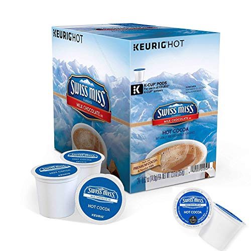 Keurig Swiss Miss Milk Chocolate Hot Cocoa 48-ct. K-Cup Pods Value Pack (Packaging May Vary)
