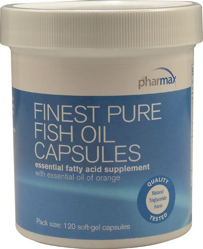 Pharmax Finest Pure Fish Oil -- 120 Softgel Capsules - 3PC by Pharmax