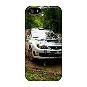 Fashion Protective Wrc Case Cover For Iphone 5/5s