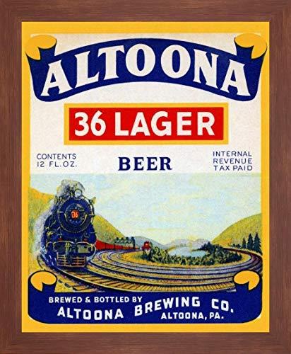 Altoona 36 Lager Beer by Vintage Booze Labels - 20