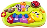 Early Education 6 Months Olds Baby Toy Learning Machine Toy with Lights and Music Songs Various Talking & Sounds Learning Story for Toddlers Children & Kids Boys and Girls