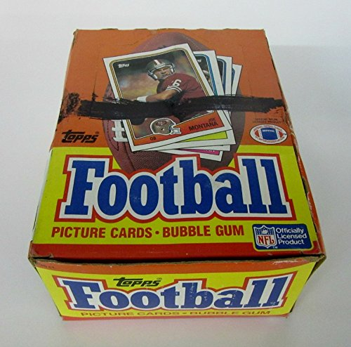 1988 Topps Football Unopened Wax (1988 Unopened Trading Card Box)