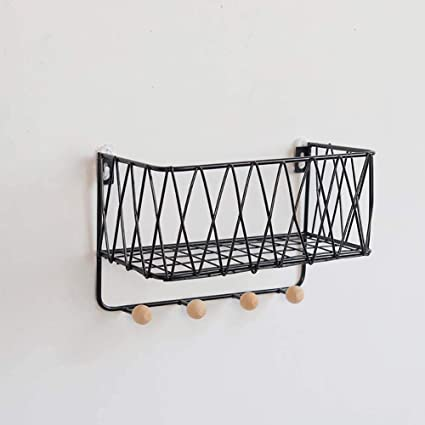 coat rack Perchero con Estante_montado En La Pared Percha ...