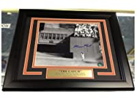 Willie Mays Signed Photo - The Catch 8x10 Framed & Matted - Autographed MLB Photos