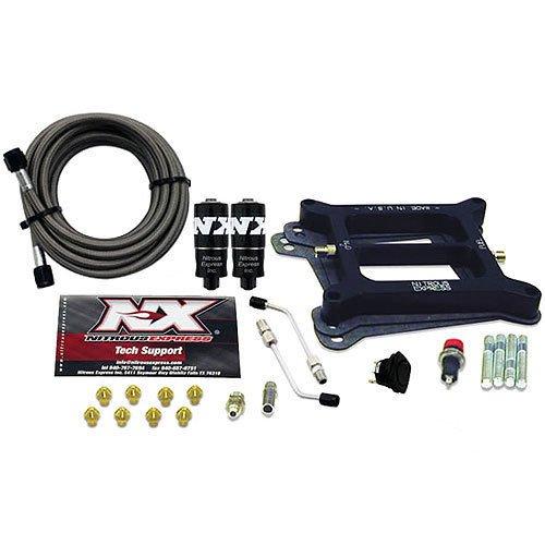 Nitrous Express 40040-00 4150 100-200 HP 4-BBL Hitman Plate System