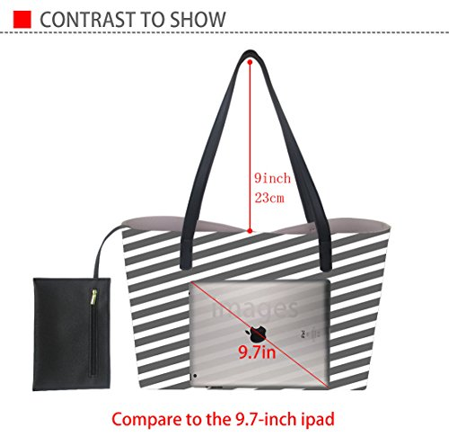 5 Bag Denim Bag Satchel Women's Handle Hot Dog Pattern Large Tote Laptop Shoulder Purse Handbag Designer Top 7T78awqxUr