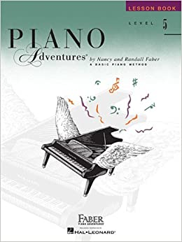 piano adventures level 5 set three book set lesson theory performance books
